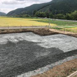 新築工事の始まり