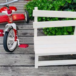 DIY!  「可愛い木製ド-ルベンチづくり」